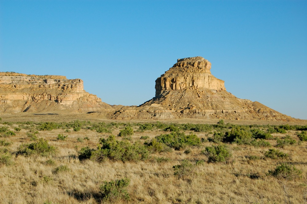 Fajata Butte near - visible from the visitor center