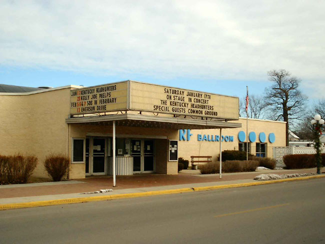 """""""These are of the Surf Ballroom in Clear Lake, Iowa. The last place Buddy Holly played."""""""