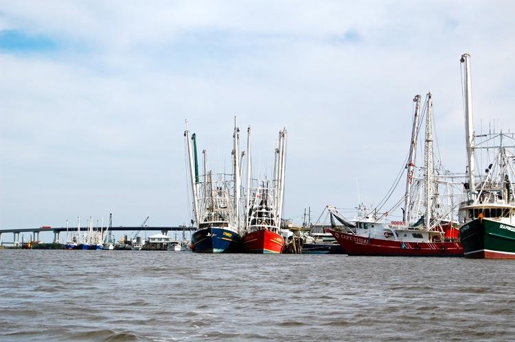 Trawl Boats. Leeville, LA.