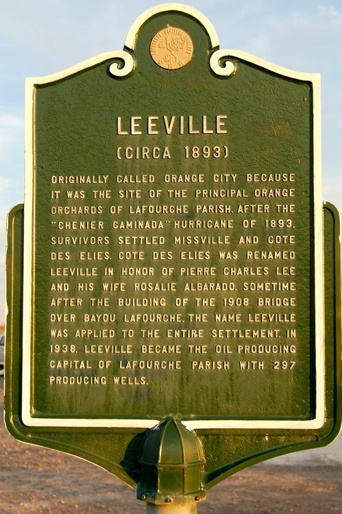 Leeville, LA.