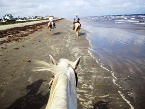Riding Rambo in Galveston