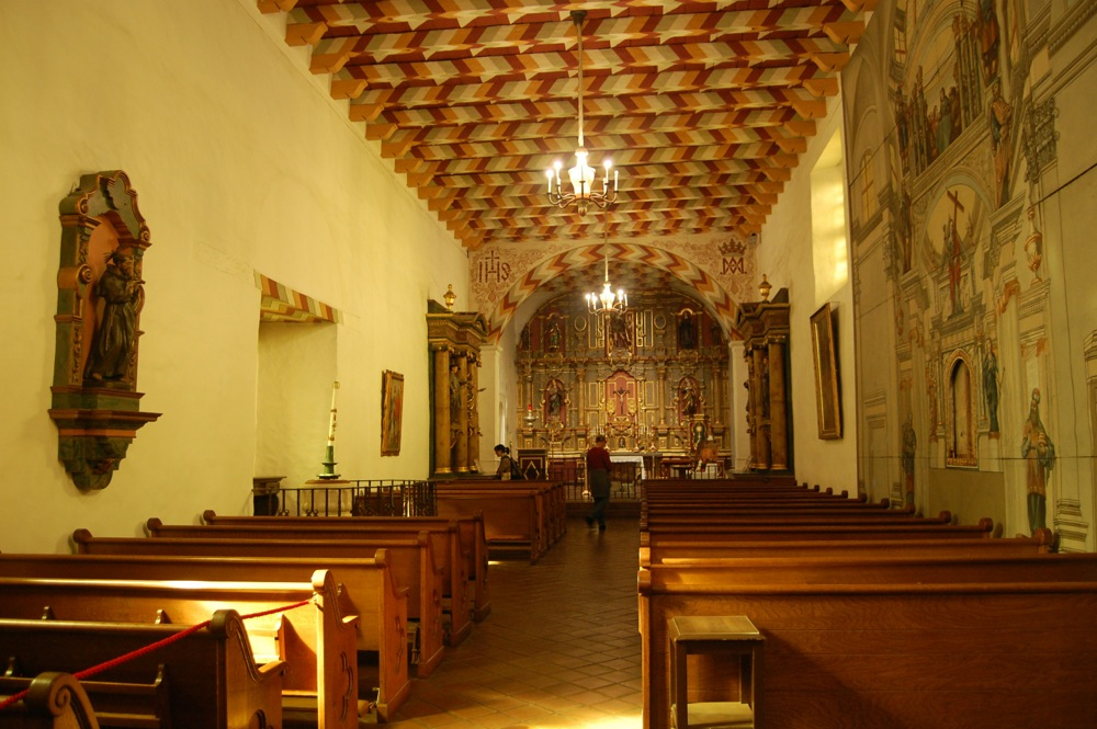 Mission Dolores interior
