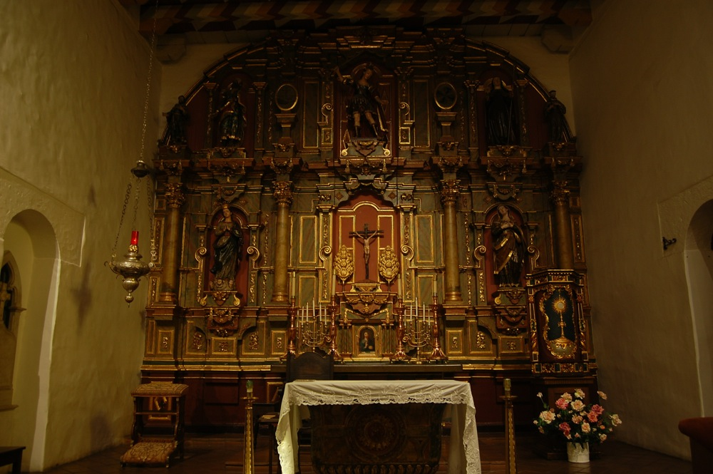 Mission Dolores altar