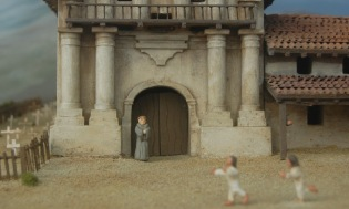 Mission Dolores (diorama)