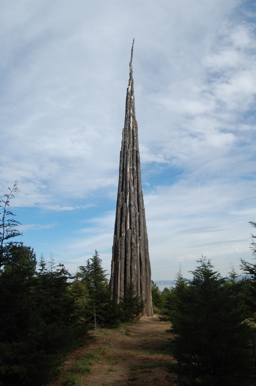 Spire (2008) by Andy Goldsworthy