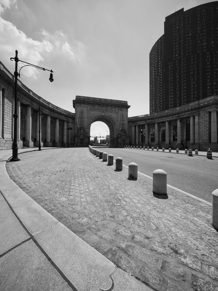 Entrance to Manhattan Bridge