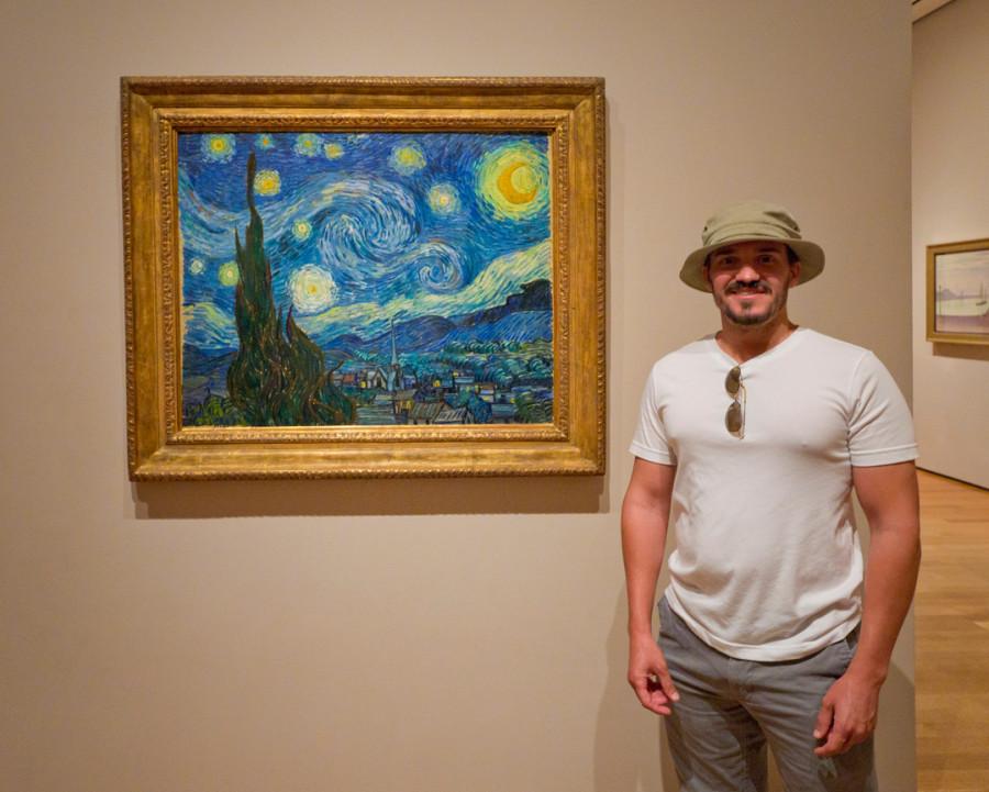 Parker with Van Gogh