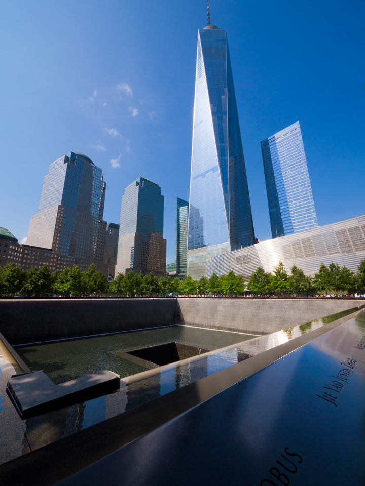 One World Trade Center and Memorial Area