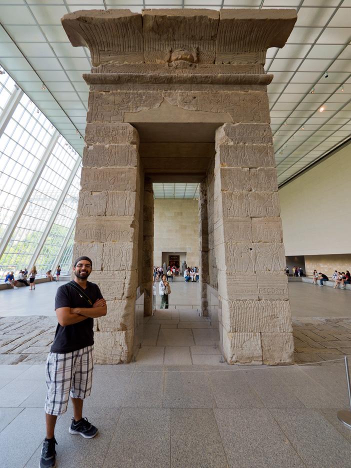Richard is in Egypt